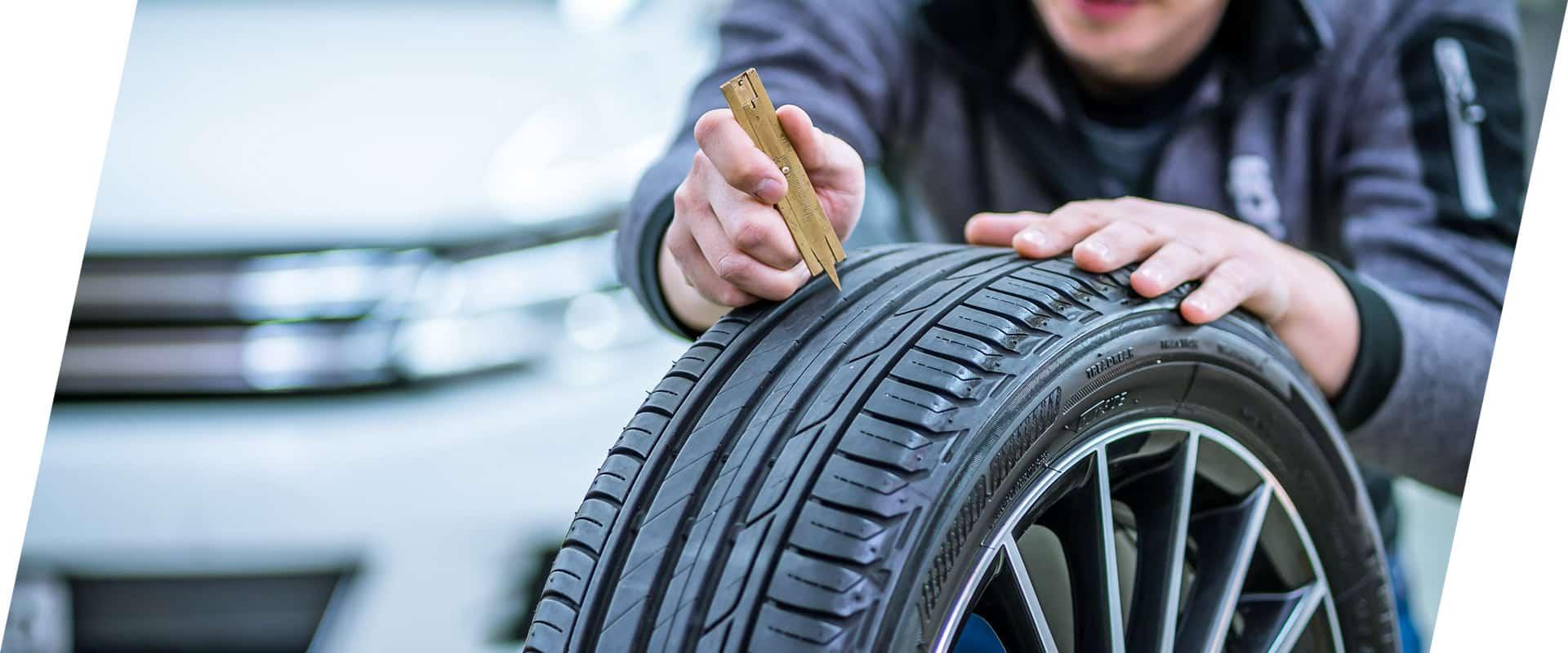 Für Reifenwechsel zu Eugster AG, Thal
