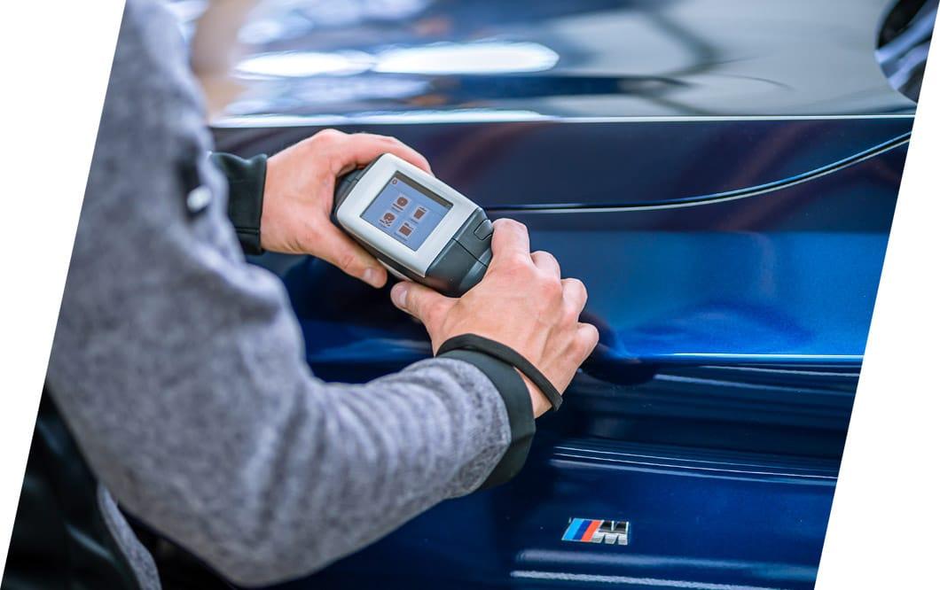 Farbenbestimmung mit Hilfe des Spektrometers | LackierCenter, Eugster AG, Thal