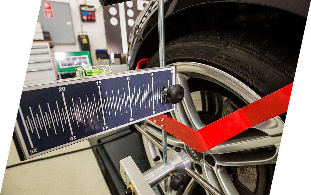 In Sachen Lenkgeometrie auf dem neusten Stand der Technik | Eugster CarCenter Thal