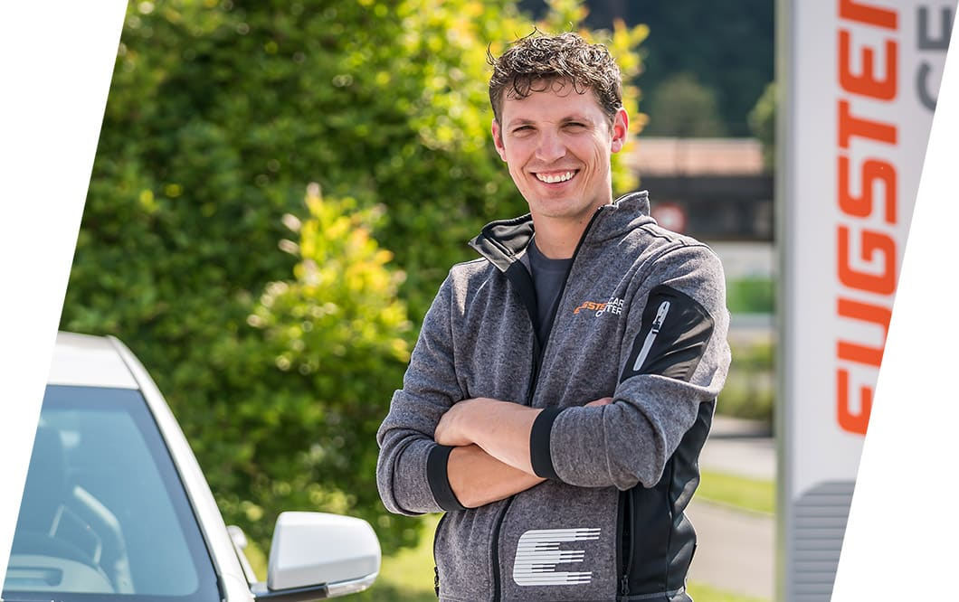 Fabian Eugster und sein Team heissen Sie willkommen.